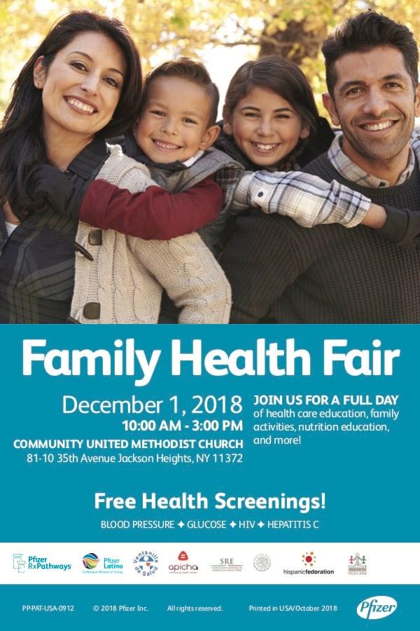 Jackson Heights Health Fair Apicha CHC